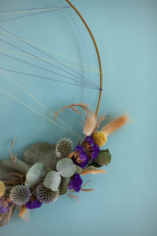Trockenblumen Loop zum Hängen